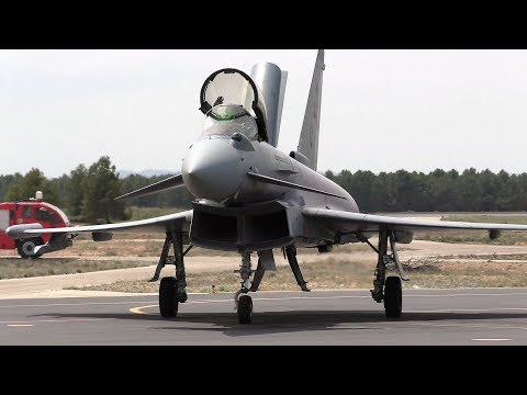 Eurofighter Typhoon - Spanish Air Force - Albacete Air Base Open Day 2018