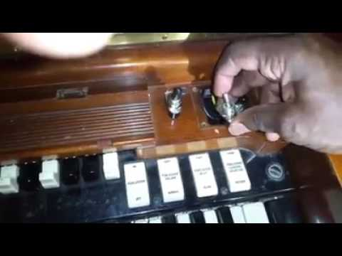 Replacing An Inappropriate Start Switch On A 1960 Hammond C3 ... on