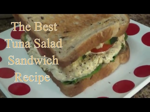 Tuna Salad  Recipe - HOW TO MAKE TUNA SALAD EASY