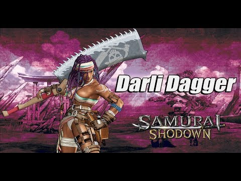 Samurai Shodown - Introducing Darli Dagger