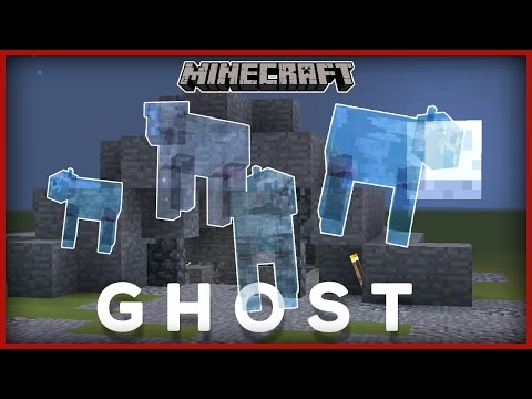 How To Make GHOSTS In Minecraft!