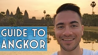 Repeat youtube video Guide to Visiting ANGKOR WAT // Siem Reap, Cambodia