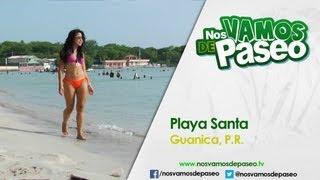 Playa Santa, Guanica, PR