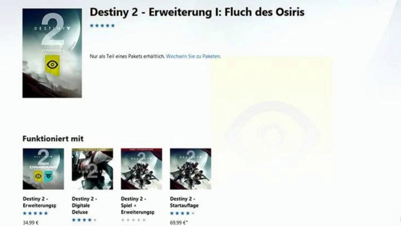 destiny 2 erweiterung