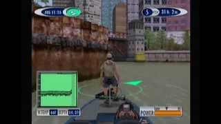 Sega Bass Fishing 2 Gameplay - Central Bridge - Sega Dreamcast