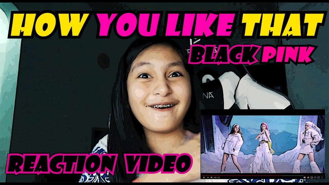 HOW YOU LIKE THAT BLACKPINK  ( REACTION VIDEO )   PRINCESS THEA
