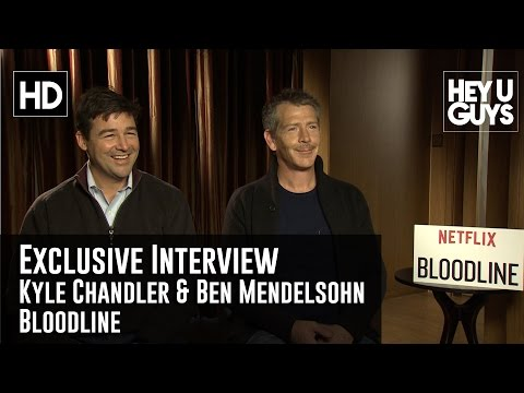 Kyle Chandler & Ben Mendelsohn Exclusive Interview - Bloodline