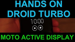 Hands On with Moto Active Display on Motorola Droid Turbo & Moto X