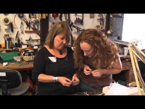 Jewelry artist, Lynette Andreasen