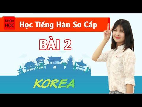 Học tiếng Hàn sơ cấp 1 Online - Bài 2 Phụ Âm Cuối