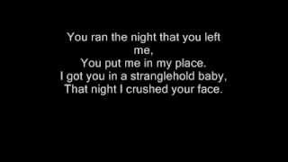 Ted Nugent-Stranglehold Lyrics