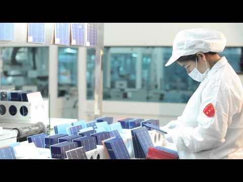 JinkoSolar Factory Video