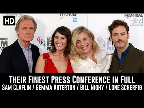 Their Finest LFF Press Conference in Full - Sam Claflin & Gemma Arterton
