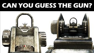 "CALL OF DUTY ""GUESS THIS GUN"" TEST 
