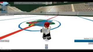 How to score in HHCL Roblox Hockey