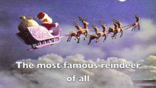 Rudolph the Red Nosed Reindeer LYRICS VIDEO