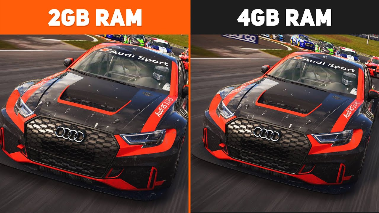 2GB RAM vs. 4GB RAM Test in 5 Games | Performance Comparison #3