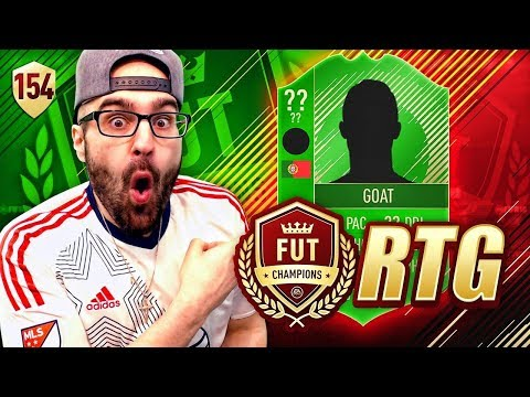 OMG WE GOT THE GOAT *WE BEAT FIFA 18 Ultimate Team* Road To Fut Champions #154 RTG