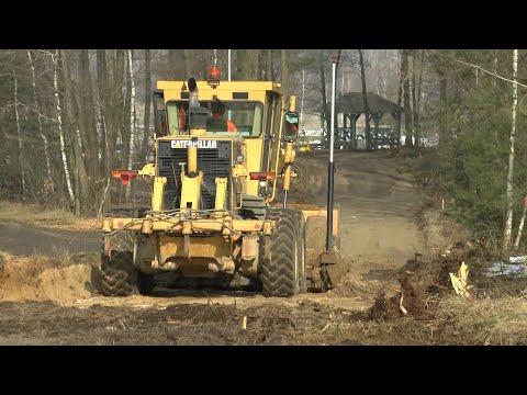 Zaawansowany etap prac nad budową ścieżki rowerowej do Porosiuk