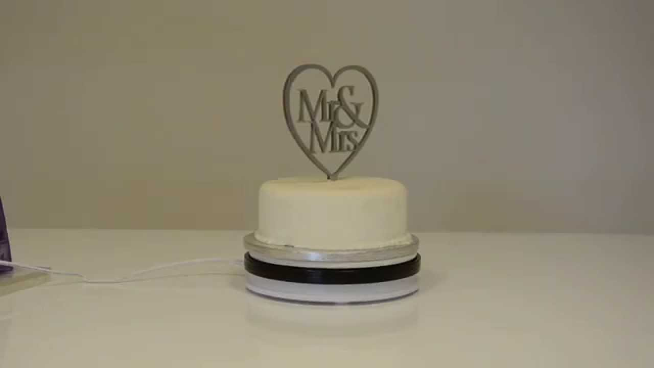 Motorized Revolving Cake Turntable