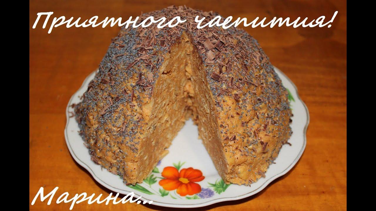 Рецепт торт муравейник в духовке