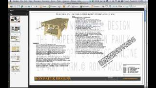 Paulk Work Bench Plans