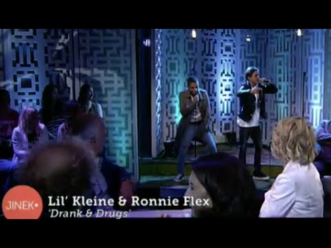 Lil Kleine & Ronnie Flex - Drank & Drugs [live bij Jinek] (prod. Jack $hirak) - #NewWave