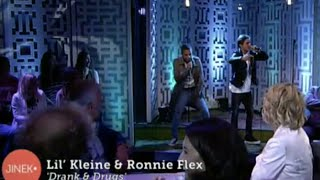 Скачать Lil Kleine Ronnie Flex Drank Drugs Live Bij Jinek Prod Jack Hirak NewWave