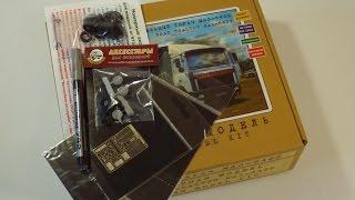 Обзор посылки со сборной моделью МАЗ-6422 и аксессуарами для конверсии (unboxing)