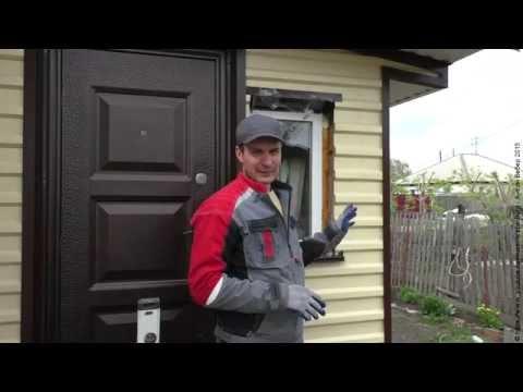 HR: Наружная отделка окна металлическими откосами