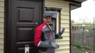 как сделать металлические откосы на окна снаружи
