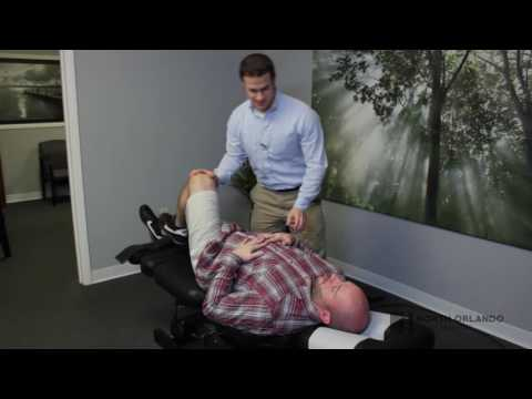 North Orlando Chiropractic Adjustment