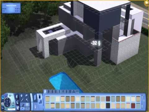 Construction D 39 Une Maison Sims 3 Celebrityhouse Youtube
