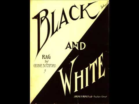 Black And White - GEORGE BOTSFORD ¤ Ragtime Piano Legend ¤