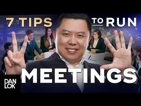 7 Tips For Running More Effective Meetings
