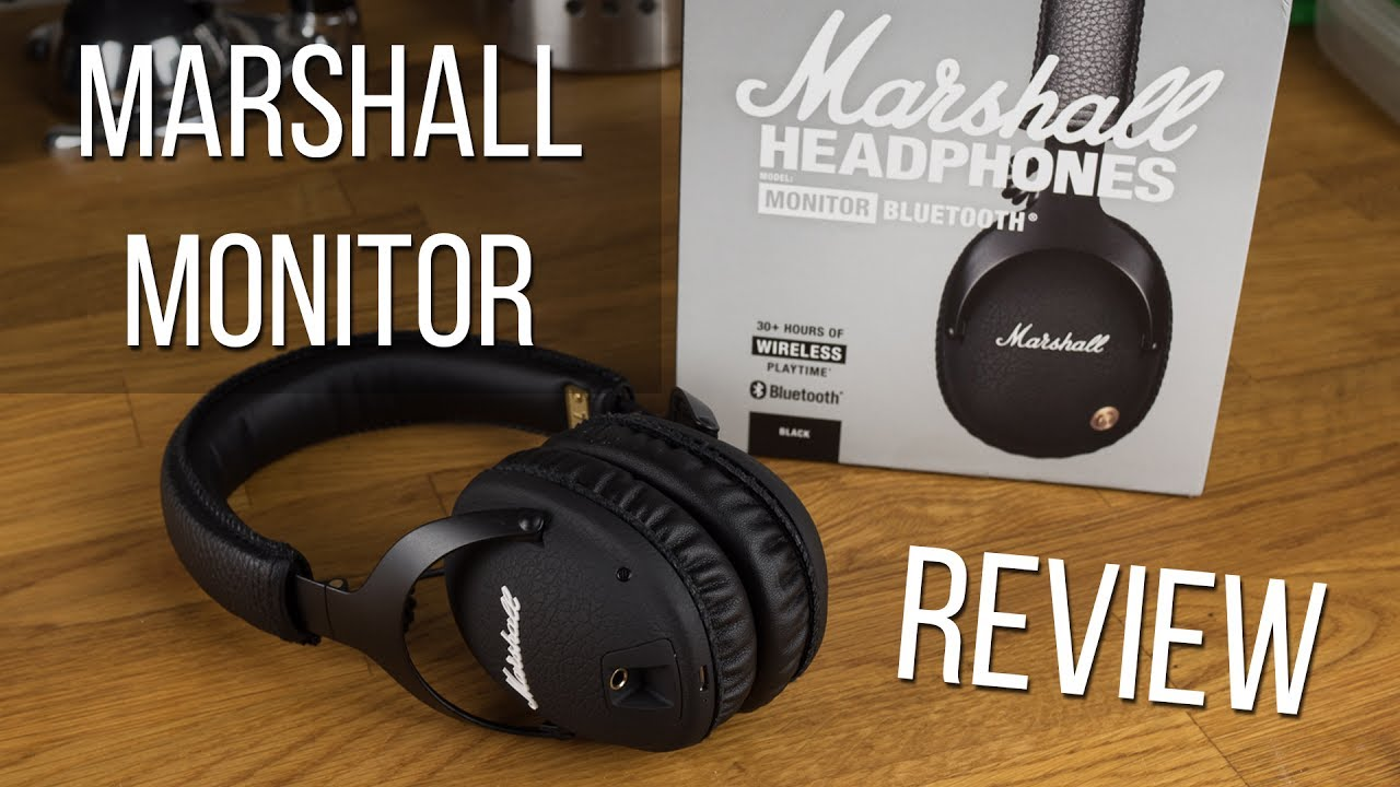 6a8c5bf4576 Marshall Monitor Bluetooth Headphones Review | SuperNewsWorld.com