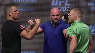 UFC 202: Diaz vs McGregor 2 - Press Conference Faceoff