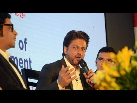 Shahrukh Khan At Magnetic Maharashtra Media Session - Bollywood Bakda