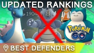*UPDATED* BEST DEFENDERS IN POKÉMON GO - TOP TIER POKÉMON FOR GYM DEFENSE