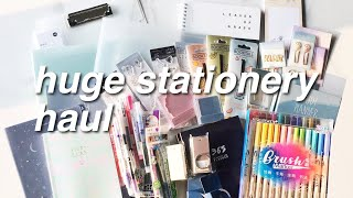 ????????HUGE STATIONERY HAUL  | Unboxing + Review (Bahasa)