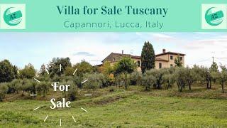 Villa for Sale Lucca Tuscany | AZ Italian Properties | Property Tuscany |
