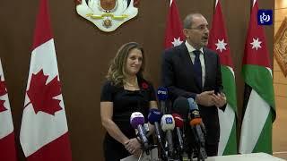وزير الخارجية يلتقي نظيرته الكندية - (30-10-2018)