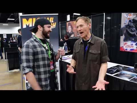 Michael Gough  The Great Philadelphia Comic Con  Exclusive