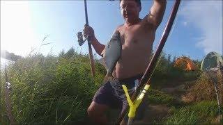 Рыбалка в Лен .обл .на р. Луга д. Манновка