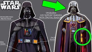 Darth Vader's MOST Powerful Suit and GOLD Lightsaber - Star Wars Explained