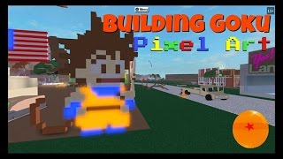 Lumber Tycoon 2: How to Make Goku Pixel Art.   ColdBlooded2021