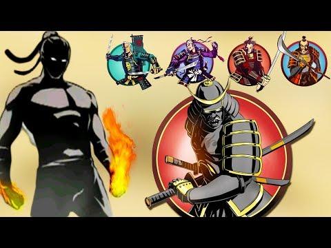 ТИТАН ТЫ СЛЕДУЮЩИЙ! ПОБЕДИЛ ВСЕХ БОССОВ СЁГУНА НА ИНТЕРЛЮДИИ Shadow Fight 2