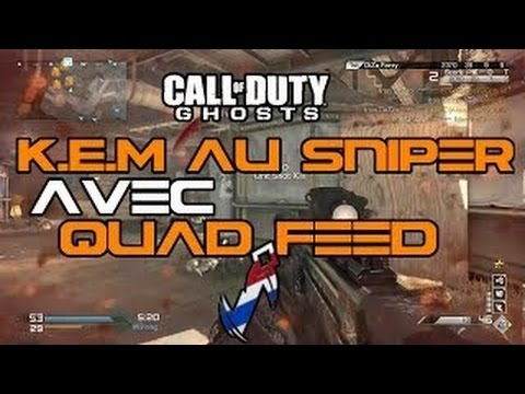 KEM au Sniper VKS + Quad feed! | Strikezone | par Iron DeZzo | COD Ghosts