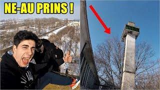 NE-AM URCAT PE CEL MAI ÎNALT TURN ȘI AM FOST PRINȘI ! Tower climbing Romania