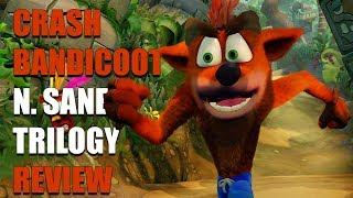 Crash Bandicoot N. Sane Trilogy Review (PS4) (Video Game Video Review)